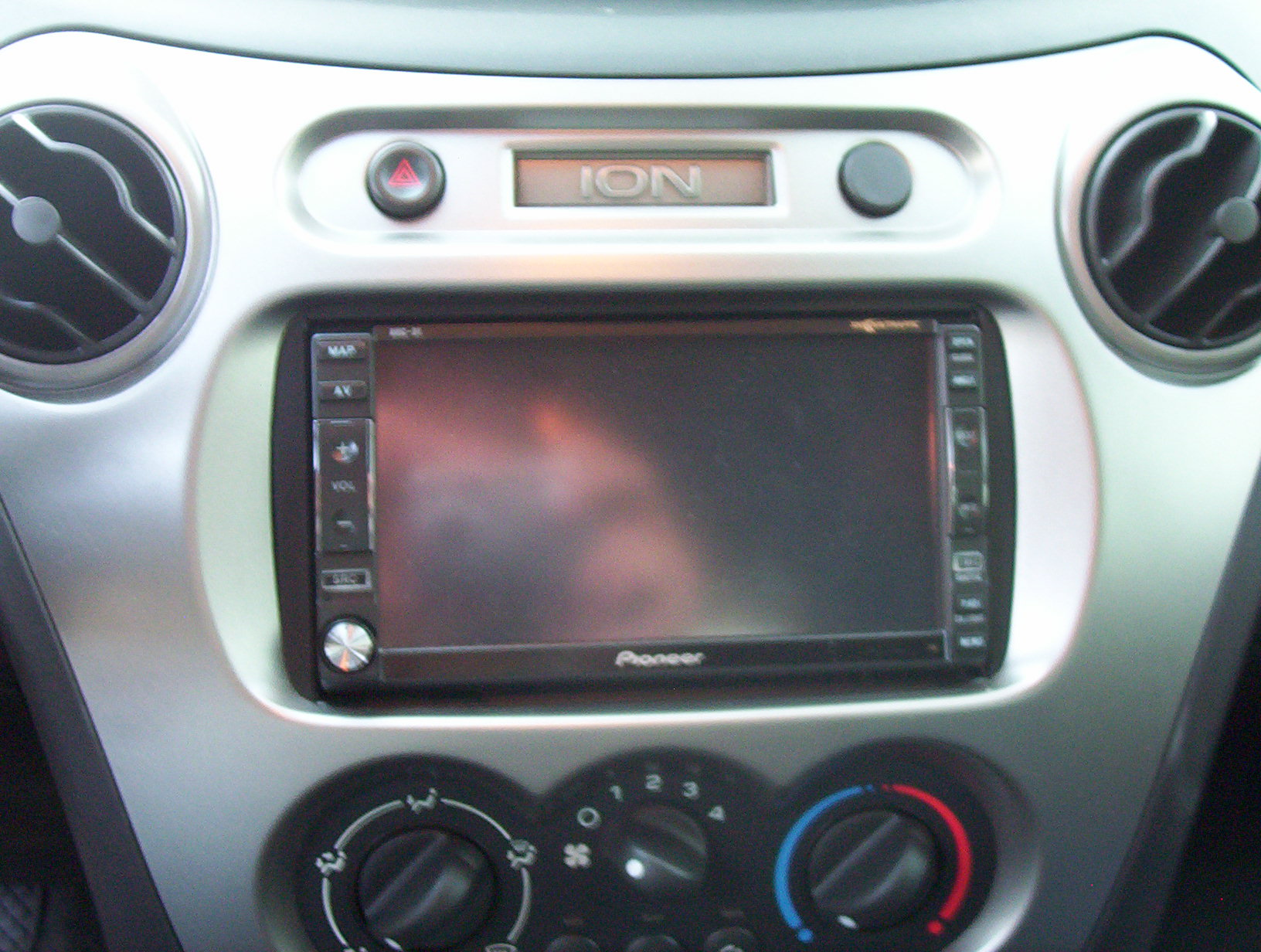 5237 fs new pioneer avic d1 d1 2 double din in `04 saturn ion redline forums 2004 Hyundai Santa Fe Wiring Harness at fashall.co