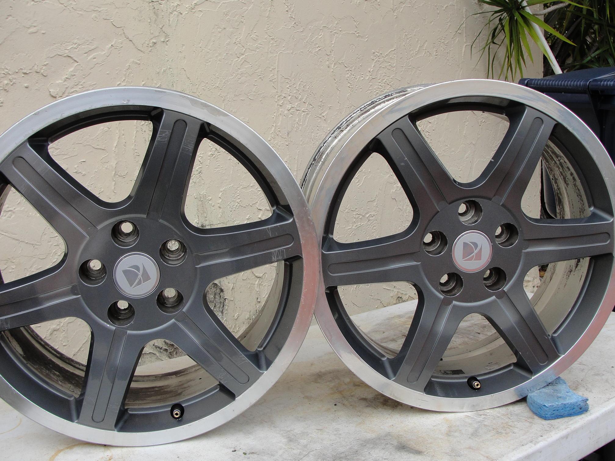 Ion redline wheels for sale - Saturn ION RedLine Forums