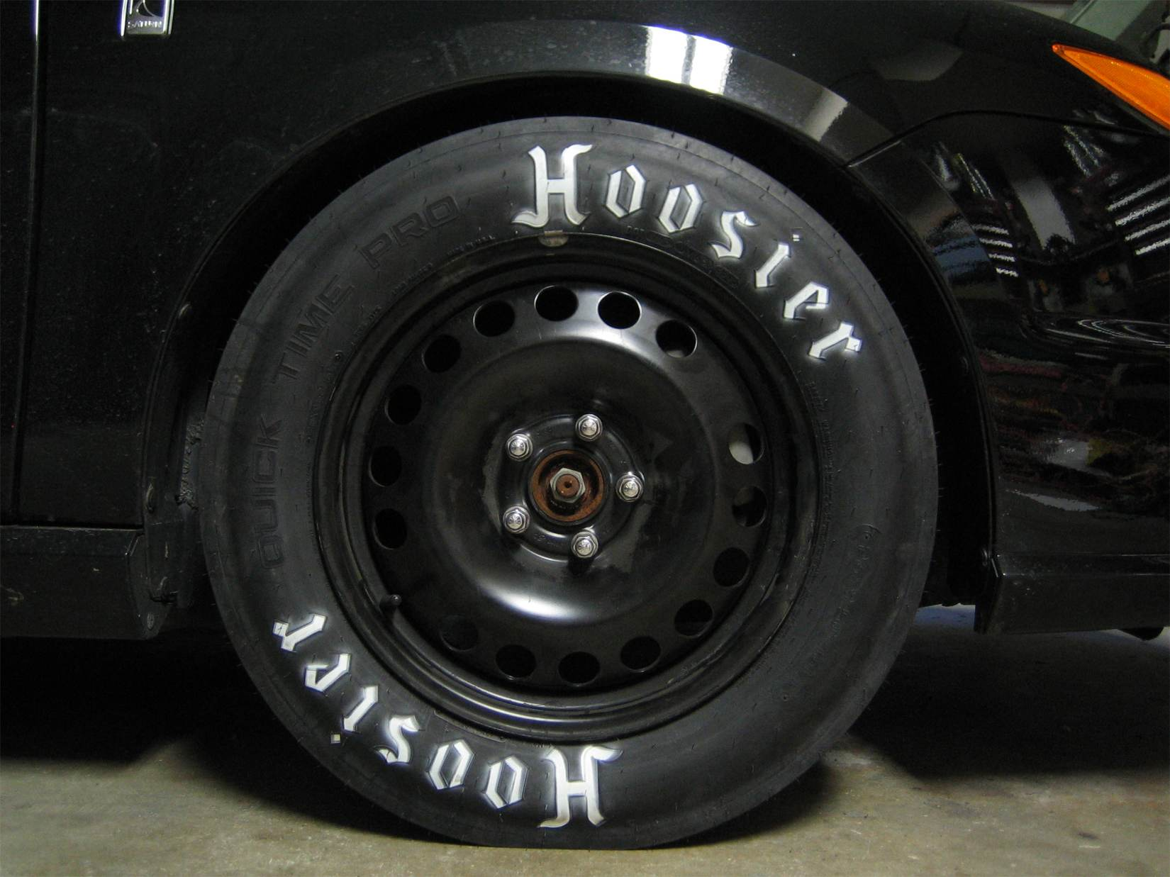 Got My Hoosier Drag Tires Today Saturn Ion Redline Forums