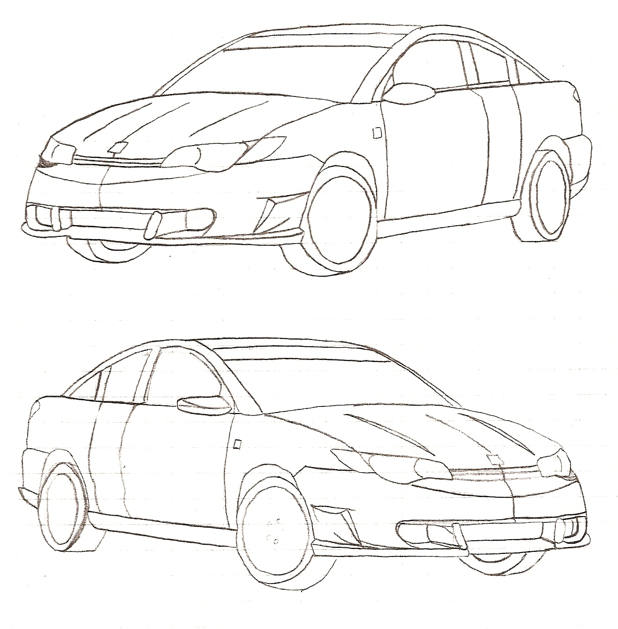 Drawing Angled Lines In Draftsight : Body graphics saturn ion redline forums