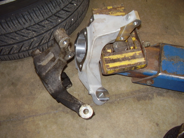 Nissan Of Omaha >> GMPP Steering Knuckle install pics - Saturn ION RedLine Forums