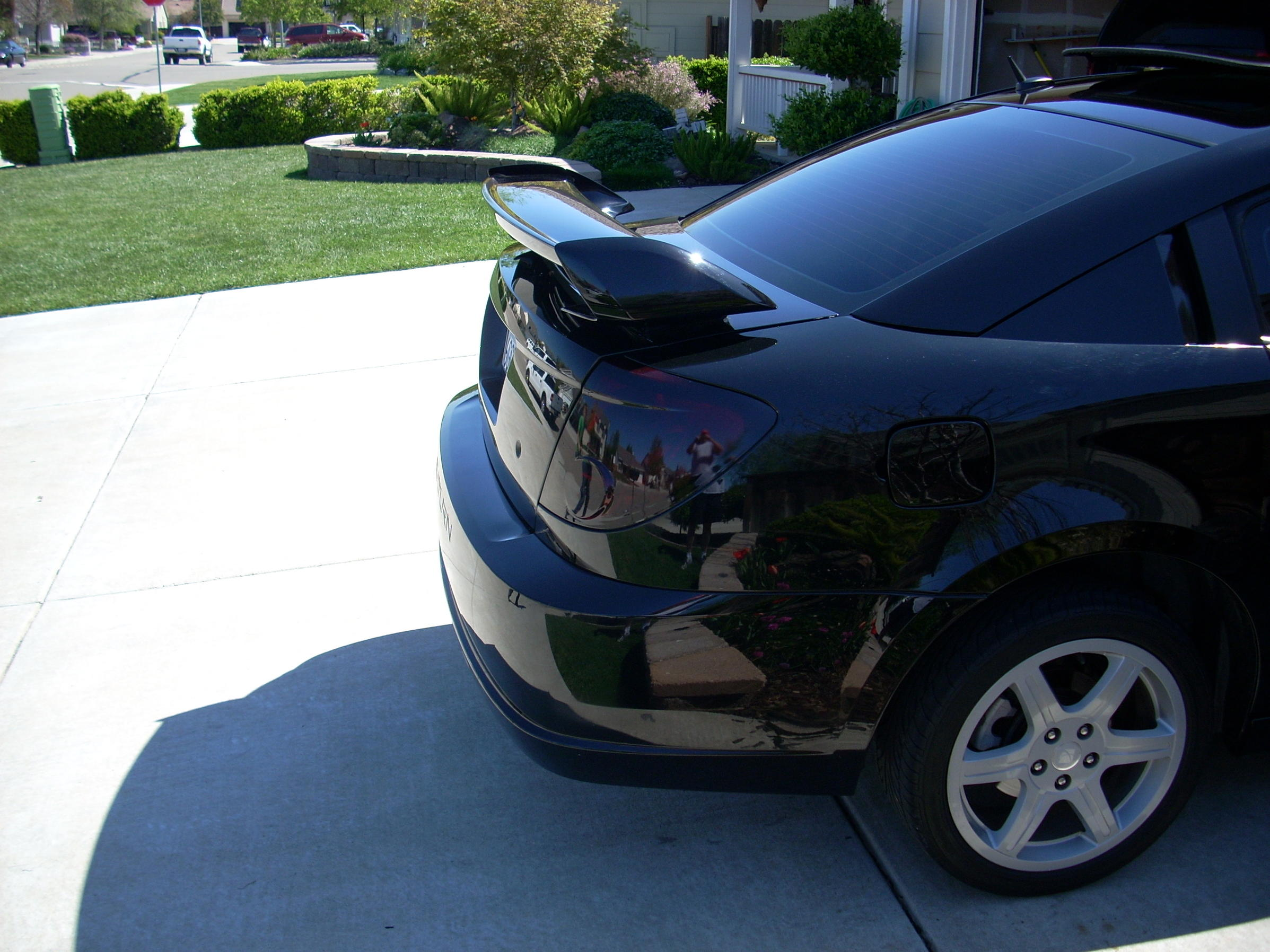 Fs Blacked Out Tail Lights Saturn Ion Redline Forums